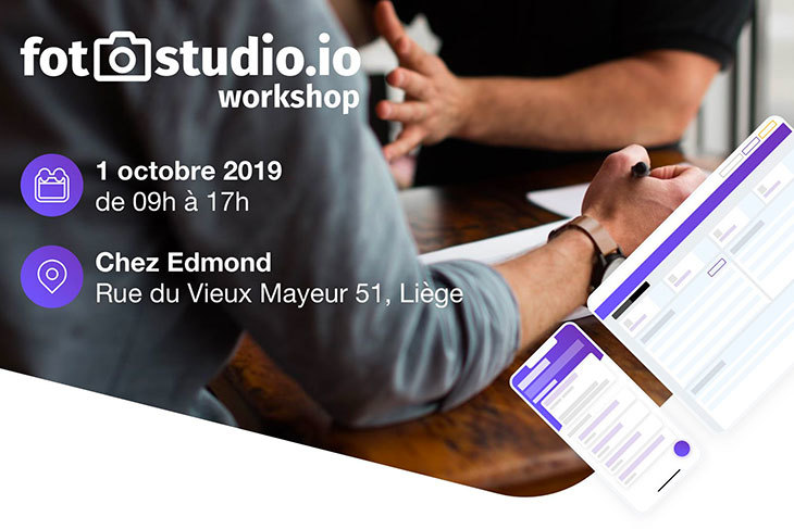 Workshops fotostudio en Belgique